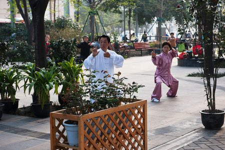 The beneficial effects of Tai Chi